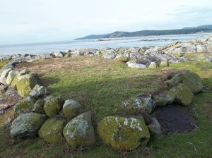 Burial Cairn in 2011