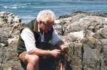 Paul contemplating the potentials of marine algae.