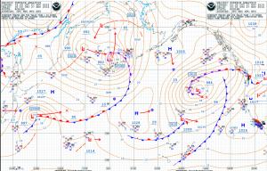 NOAA pacific Pressure Centres