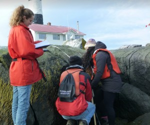 tella, Connor and Tamara discover the intricacies of inter-tidal life.