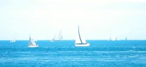 The fleet heading west.