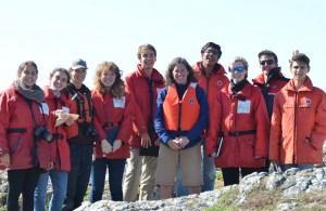 Another successful field trip to Race Rocks, an important part of becoming ocean literate at Pearson College.