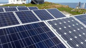 Race Rocks operations depend on the sun for electricity.