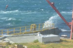 48 knots winds!