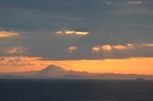 Early morning Mt. Baker