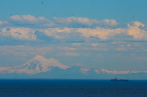 Mount Baker!