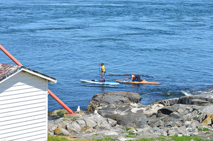 Two of the SUP'ers